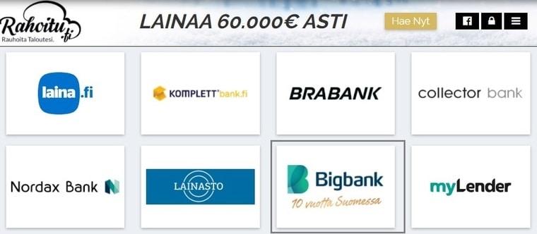 Kilpailuta Bigbank
