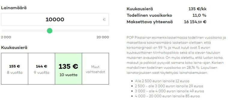 POP Pikalaina