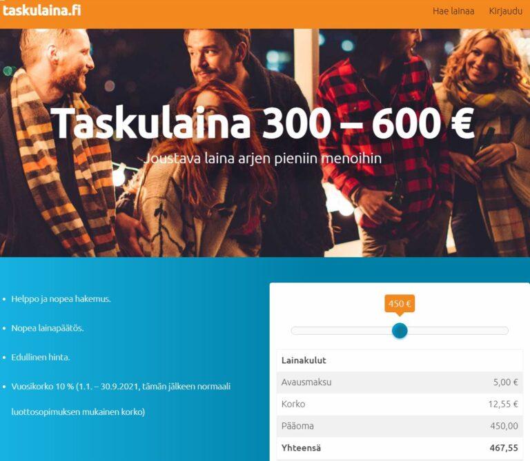 Taskulaina.fi kokemuksia