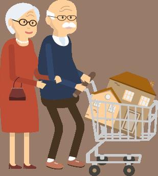 Asuntolainaa eläkeläiselle