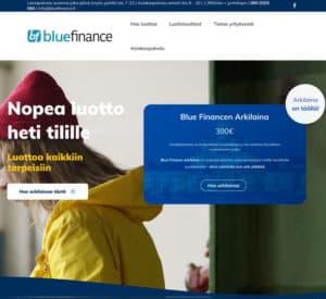 Kokemuksia Blue Financesta