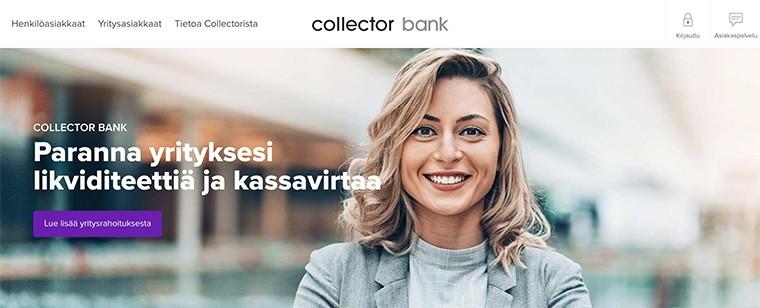 Collector Bank yrityksille