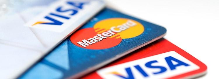 Erityyppiset luottokortit