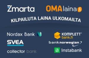 Lainaa ulkomailta ulkomaisesta pankista