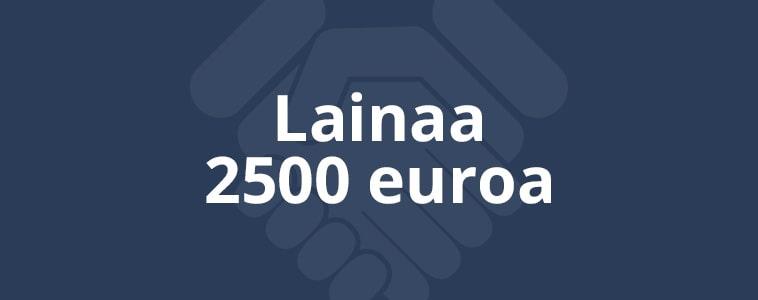 2500e laina