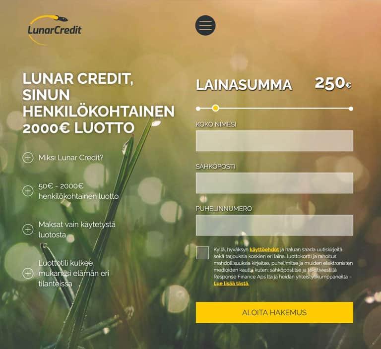 Lunar Credit lainapalvelu