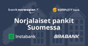 Norjalaiset pankit Suomessa 2021