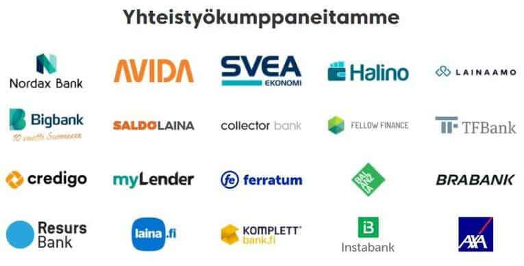 rahalaitos yhteistyokumppanit