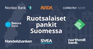 Ruotsalaiset nettipankit Suomessa