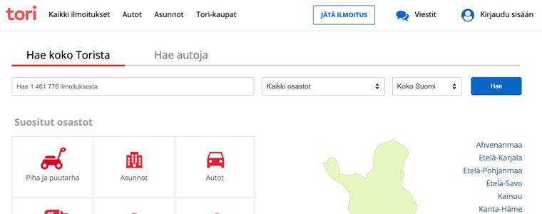 Osta ja myy - Tori.fi