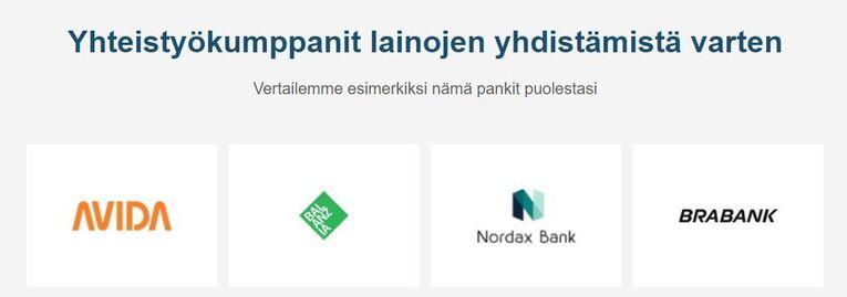 vertaaensin.fi lainojen yhdistäminen